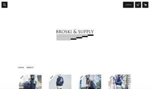 レザー素材がまさかの防水機能付き!メンズのリュックコーデはビジネス兼用が基本。BROSKI&SUPPLY/ブロスキーアンドサプライのレザーリュックhub(ハブ),hub2(ハブ2),hub3(ハブ3)
