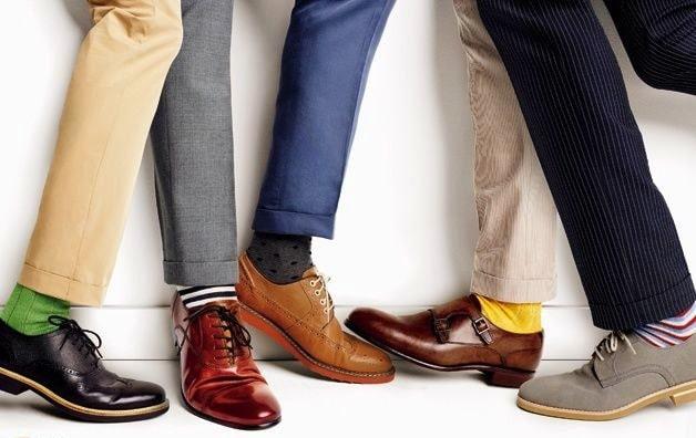 【画像】ロールアップを靴下見せて合わせる