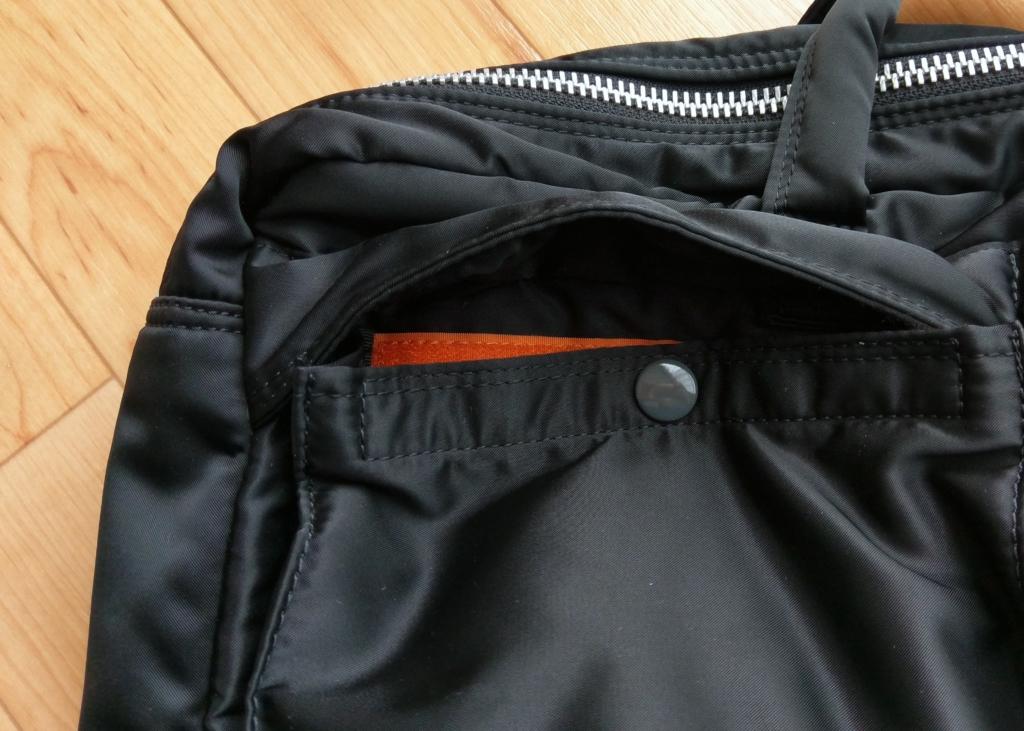 【画像】タンカー3wayバッグ外ポケット/622-69308(旧品番:622-09308)