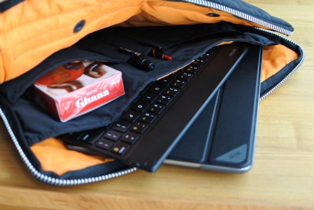 【画像】ipadとキーボードの写真/PORTER/タンカー/クラッチバッグ/622-06500