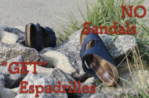 【画像】エスパドリーユ夏のメンズ靴