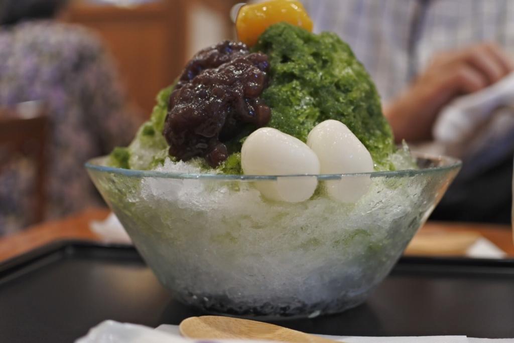 【画像】小布施堂のかき氷、おいしい