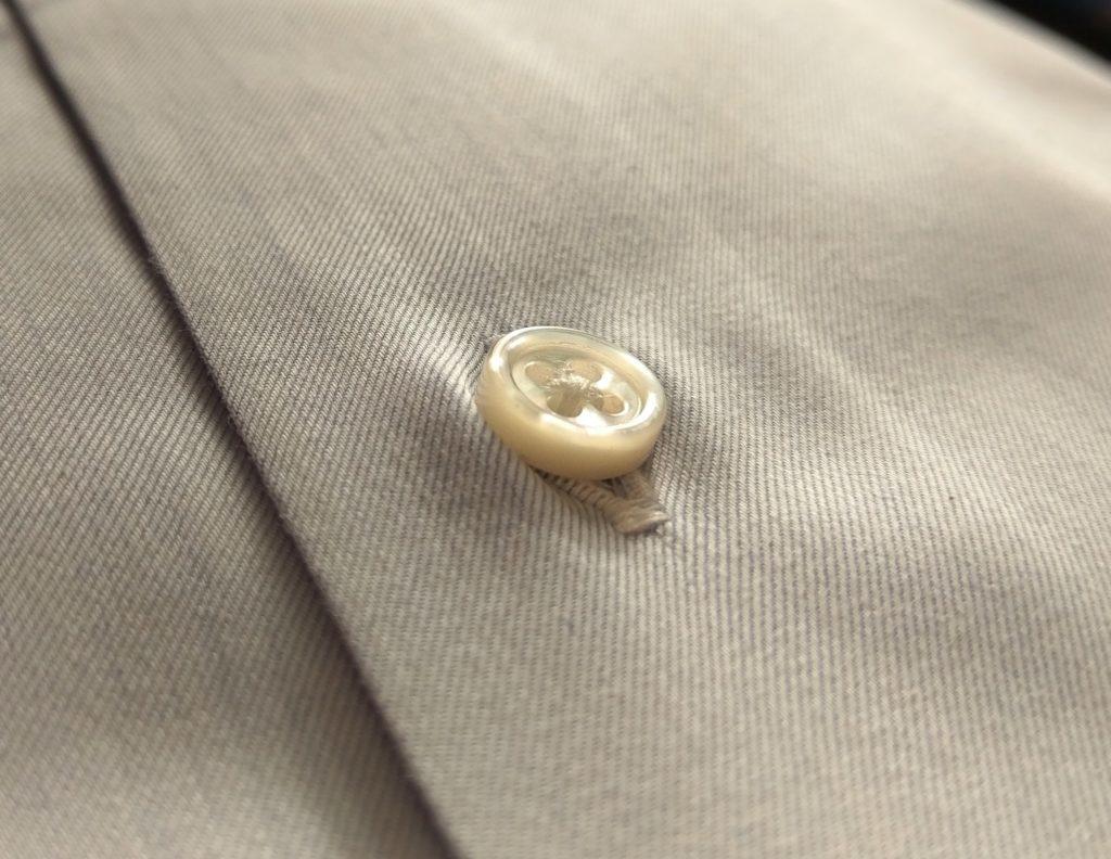 【画像】鎌倉シャツ貝ボタン