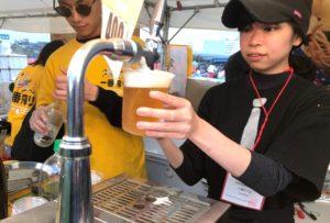 【画像】二子玉川花火大会のビール