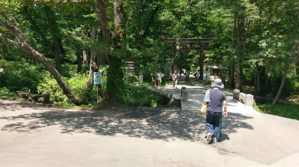 【画像】戸隠神社の入り口(中社)