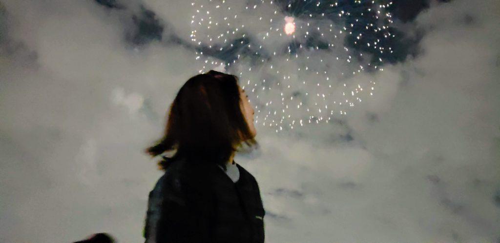 【画像】花火大会の神ショット嫁ver