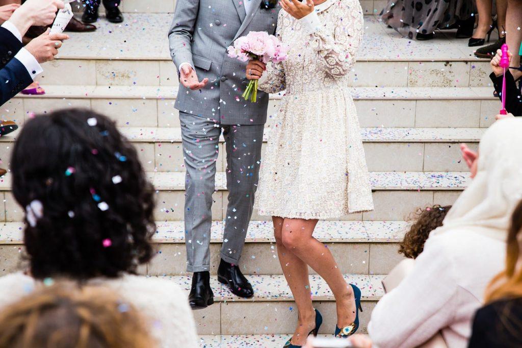 【画像】結婚式の服装