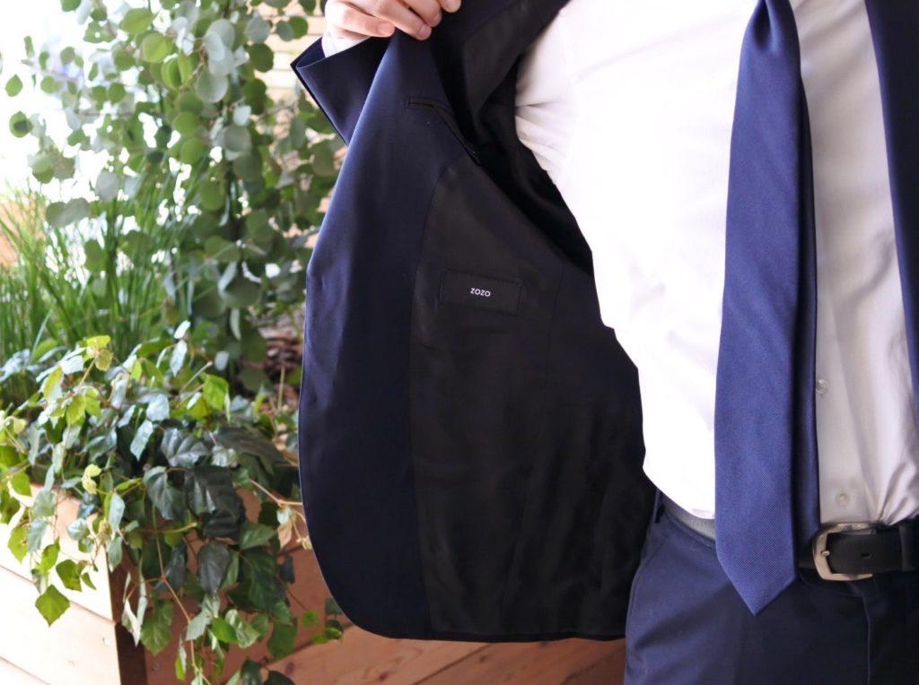 【画像】ゾゾのビジネススーツを着てみたゾゾネーム