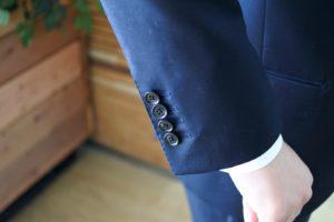 【画像】ゾゾのビジネススーツを着てみた袖部分