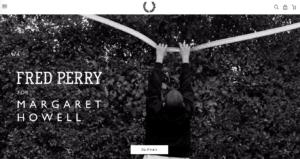 【画像】フレッドペリー公式サイト