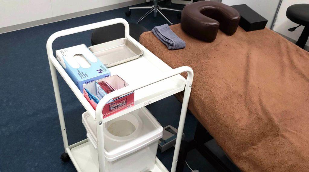 【画像】新宿AGAスキンクリニック処置室
