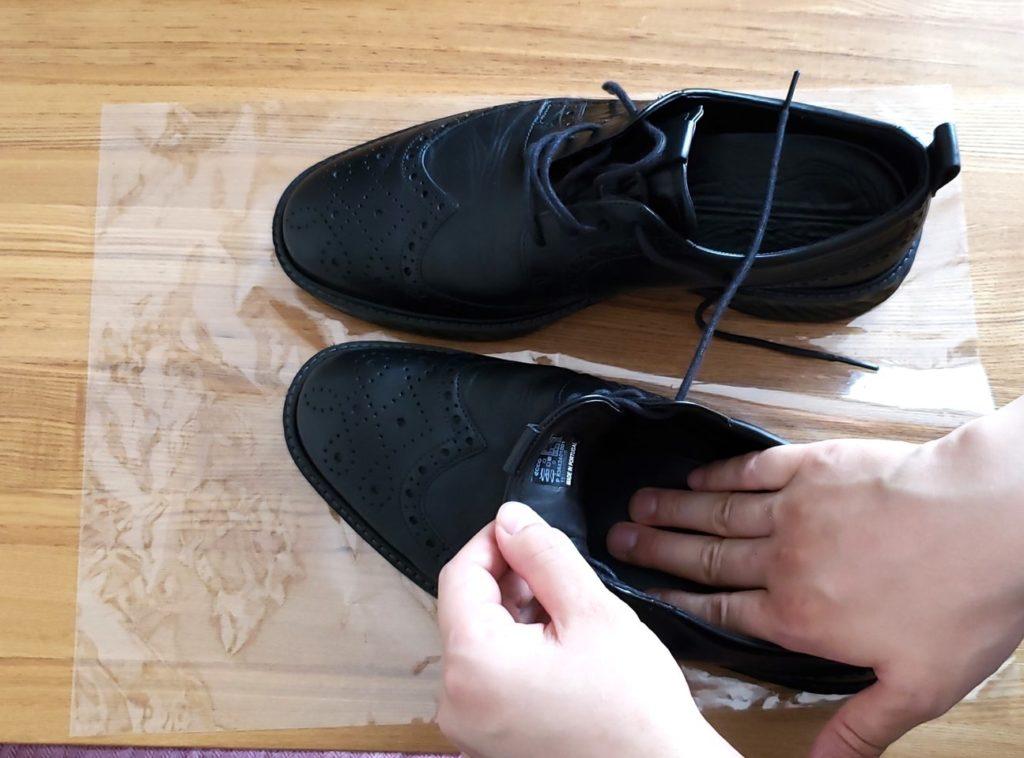 【画像】eccoの靴の中は立体