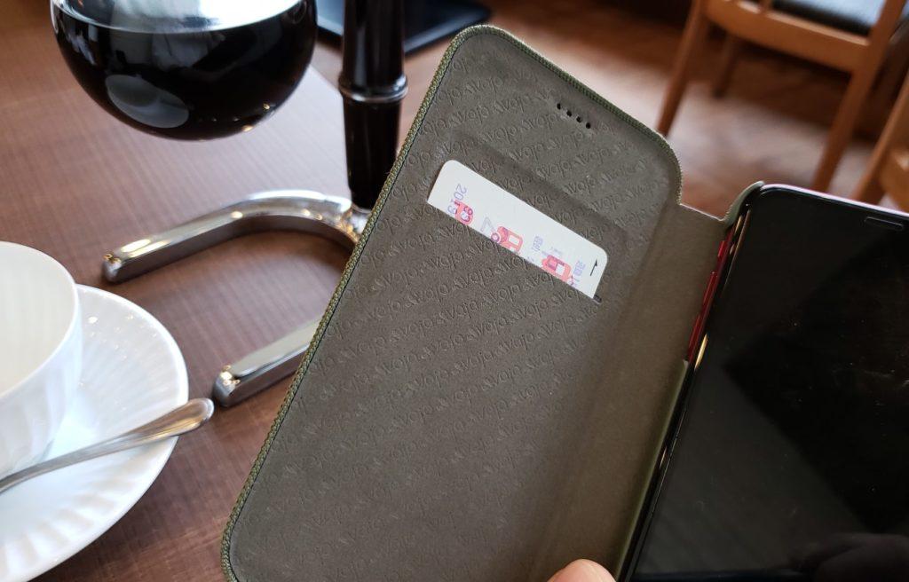 【画像】カードも入る仕事用iPhoneケース