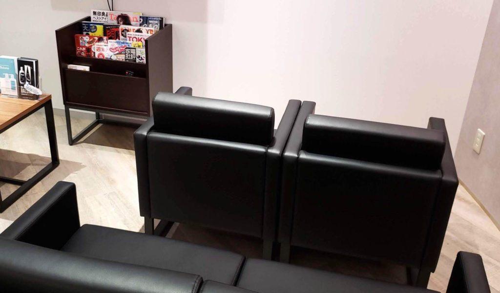 【画像】新宿AGAスキンクリニック待合室