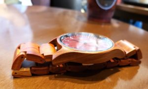【画像】被らない木製腕時計厚さ