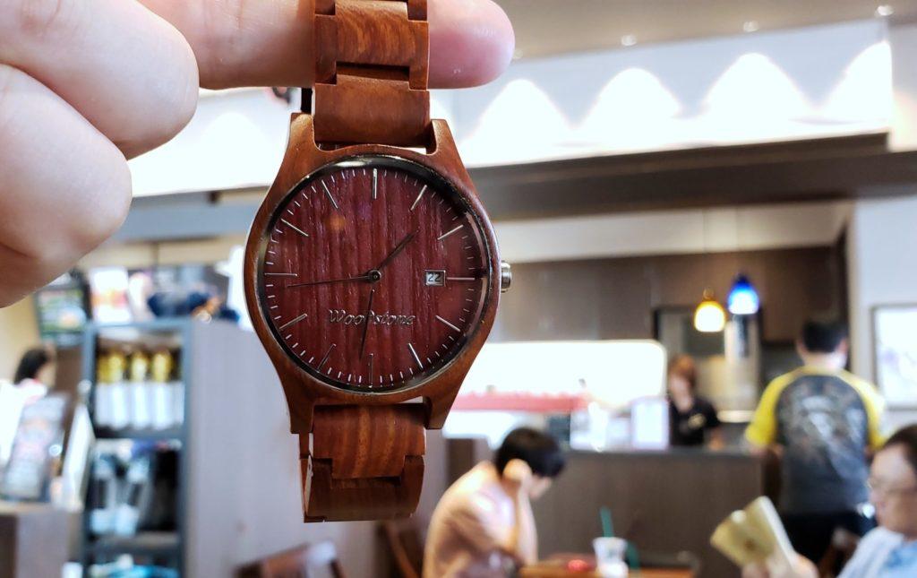 【画像】被らない木製腕時計