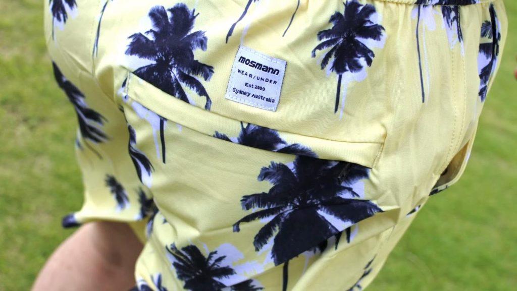 【画像】水陸両用のメンズショートパンツのバックポケット