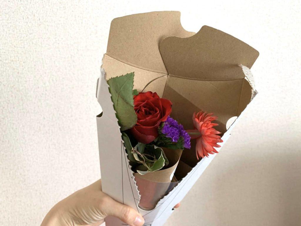 産後のイライラ対策【花の定期便Bloomee LIFE】開封2