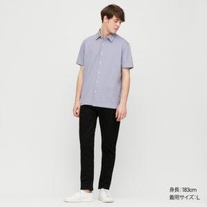 【画像】ユニクロ伸びるシャツ