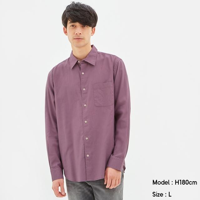 【画像】gu明るいシャツ