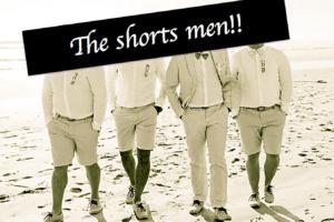 【女子ウケ比率8倍に!?】メンズショートパンツの着こなしは膝丈がセーフライン